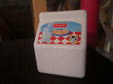 Fisher Price Fun with Food Milk Container 1998 Drink C2