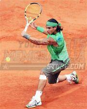 Rafael Nadal back hand clay court  8x10 11x14 16x20 photo 624