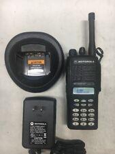 Motorola HT 1250 LS 200MHz Two Way Radio AAH25MDH4DP6AN