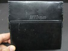 Nikon filter case to fit up to 120mm diameter leather case vintage