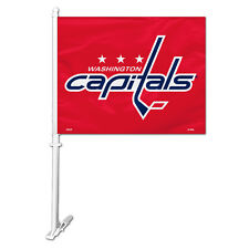 Washington Capitals Car Flag with Pole [NEW] NHL Auto Truck Tailgate 11x15