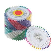 480pcs Multi Colour Round-Head Faux Pearl Decorating Pin Dressmaking Pin NC