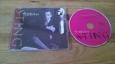 CD Pop Sting - Let Your Soul Be Your Pilot (1 Song) Promo A&M REC sc