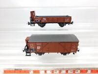 CD8-0,5# 2x Bilger ? (Roco) H0/DC Güterwagen DRG NEM: 35208 + 78456, sehr gut