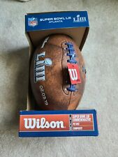 Wilson Nfl Super Bowl Atlanta Liii 53 Composite Football Rams Pats