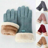 Womens Winter Warm Soft Stretch Mittens Thermal Touchscreen Cold Weather Gloves