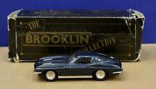 Brooklin 21 1:43 1963 Corvette Stingray Coupe Dark Blue Met 1986 Mint/ Box DB