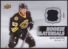 2014-15 Upper Deck UD Game Used Rookie Materials Jersey #RM33 Seth GRIFFITH