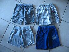 Lot 4 shorts garçon 3 ans Spiderman, Cars, Petit Bateau... bon état