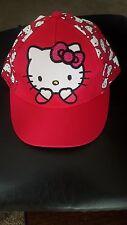 2017 New Hello kitty hat snapback Summer Baseball Cap Kids Baby Girls Adjustable