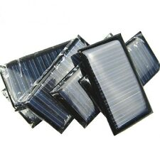 10PCS 5V 30mA 53*30 Mini Small Solar Cell Panel 3.6V Battery Charger for DIY Toy