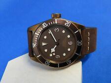 Montre plongeuse homage black bay bronze ETA 2824-2