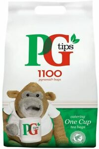 PG Tea Bags 1100s Pyramid Bags 2.2KG