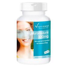 Hyaluronsäure 300mg 120 Tabletten, vegan, hochdosiert - Vitamintrend