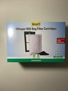 Tetra Whisper Bio-Bag Cartridge Unassembled Medium 12-pack  (free Shipping)