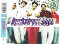 [Music CD] Backstreet Boys : I Want It That Way