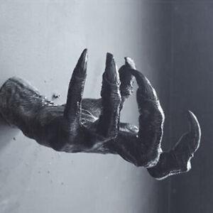 Devil's Hand Pub Wall Resin Craft Decoration Creative Statue Gothic Sculpture