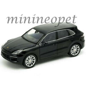WELLY 24092 PORSCHE CAYENNE TURBO 1/24 - 1/27 DIECAST MODEL CAR BLACK