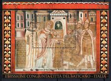 2013 Vaticano Foglietti FRANCESCO 1700° Editto di Milano MNH