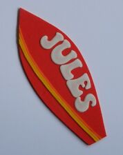 1 edible LARGE SURF BOARD CAKE TOPPER decoration surfboard WEDDING beach party