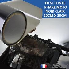 Film covering pour teinte de phare moto NOIR CLAIR optique clignotant feux