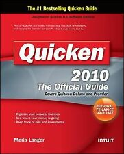 Quicken 2010 The Official Guide (Quicken Press), Langer, Maria, Good Book