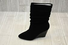 Charles By Charles David Edell Wedge Boot - Women's Size 7.5M - Black NEW