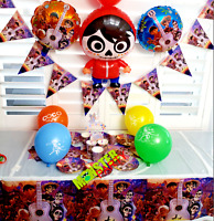Coco Centerpiece Disney Birthday Party Supplies BALLOONS MIGUEL balloon BRACELET