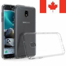 For Samsung Galaxy J3 2018 Case - Crystal Clear Thin Soft TPU Transparent Cover