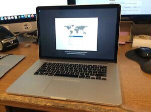 MacBook Pro 15 Retina Mid 2015 2.2GHz i7 16GB 512GB SSD Read Desc