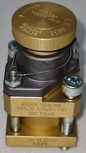 BAUER KOMPRESSOREN GENUINE SPARE PARTS 059410 SAFETY VALVE 100-365 BAR #2