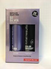 Matrix Total Results So Silver Color Obsessed Shampoo & Conditioner - 10.1oz DUO