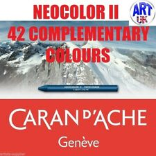 CARAN Dache Neocolor II Artists Watercolour Crayons Burnt Sienna