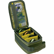Fly Fishing Reel Spool Storage Bag Case Lure Line Tackle Gear Organizer Pouch