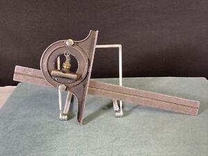 "Lufkin Combination Square Protractor 12"" Vintage"