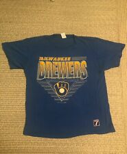 1991 Milwaukee Brewers T shirt Logo 7 1991/MLB