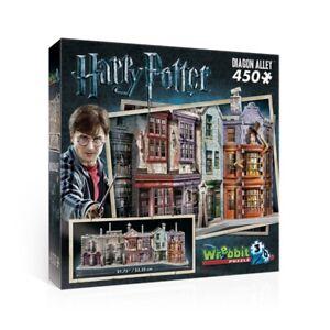 Diagon Alley Puzzle 3D Harry Potter 450 Pezzi Pieces WREBBIT PUZZLE W3D-1010