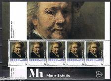 3012 vel/blok Heropening Mauritshuis - Rembrandt - Zelfportret - Paintings
