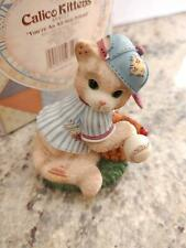 "Enesco - Calico Kittens - ""You're An All Star Friend"" #454621 Nib"