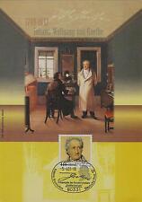 BRD MiNr 2073 (PMR Nr So 5) 250. Geburtstag Johann Wolfg. v.Goethe -Freimaurer-