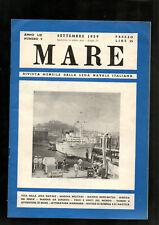 MARE 1959-gruppo FINMARE illustrato rivista della LEGA NAVALE ITALIANA