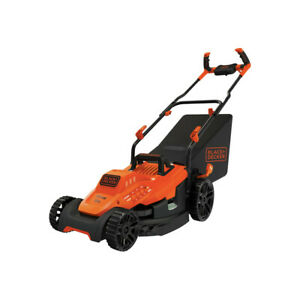 "Black & Decker BEMW472BH 120V 10 Amp 15"" Lawn Mower w/Comfort Grip Handle New"