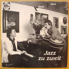 Karl Hodina & Gerd Bienert - Jazz zu zweit  LP