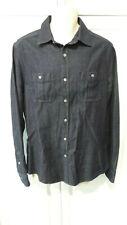 RM WILLIAMS Rancher blue denim long sleeved shirt Size L