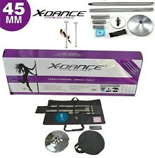 X Dance Pole 45mm Exotic Static Spinning 9 FT Pole Dance Exercise Pro Fitness