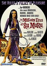 The Million Eyes of Su-Muru - Shirley Eaton, Frankie Avalon, George Nader - DVD