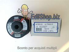 Disco da sbavatura ferro, acciaio, mola, SAIT DS METAL diam. 115x6 n°10 dischi