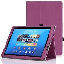 Fino Plegable Funda Apto Sony Xperia Z4 Tableta 10.1 pulgadas 2015