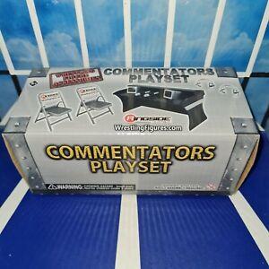 Commentators Announce Table Playset - RSC - WWE Wrestling Figure Accessories (b)