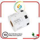 Etichette adesive per Brother DK 11209 QL500 QL500A QL550 QL560VP QL570 10 PZ